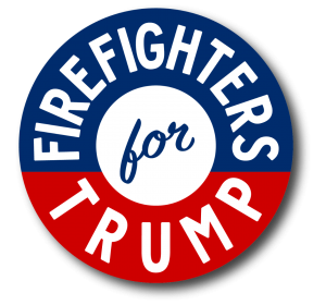 Firefighters For Trump 2020 - Button
