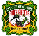 NYC Firefighters - Irish Pride T-Shirt