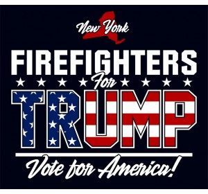 New York Firefighters For Trump